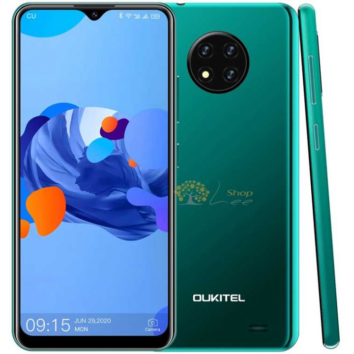 Oukitel C19 2/16Gb 4G Green
