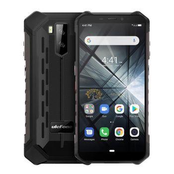 Ulefone Armor X5 3/32Gb (АКБ 5000 мАч) Black