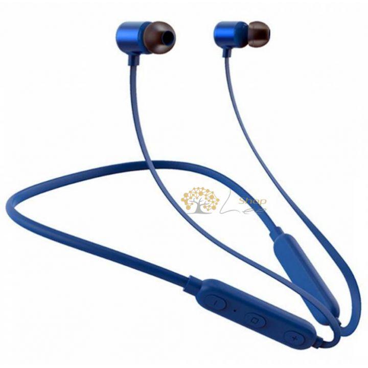 Беспроводные Bluetooth наушники ZARMANS ZX1 Синие