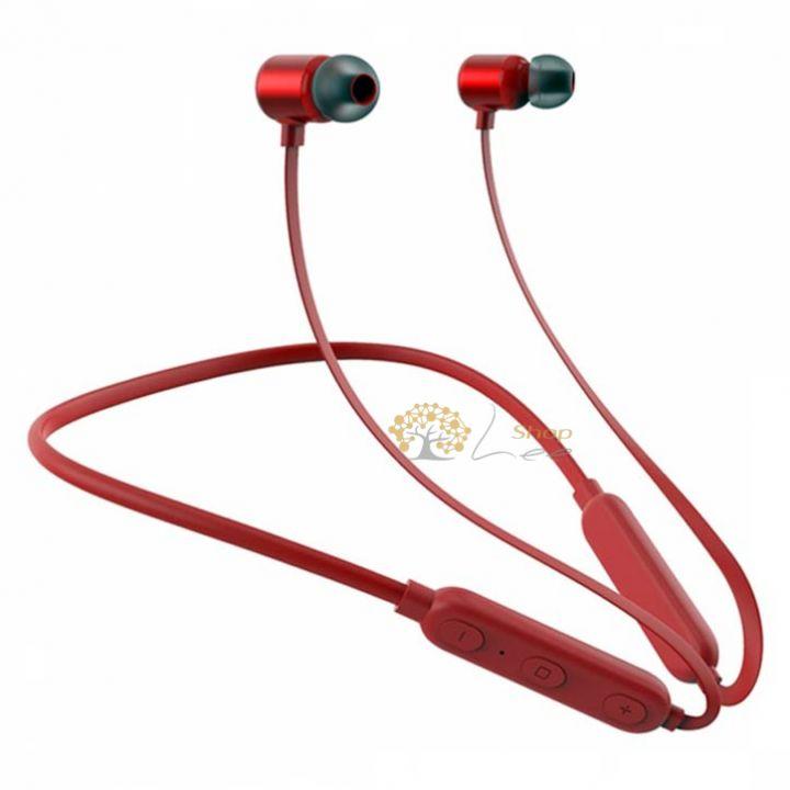 Беспроводные Bluetooth наушники ZARMANS ZX1 Красные